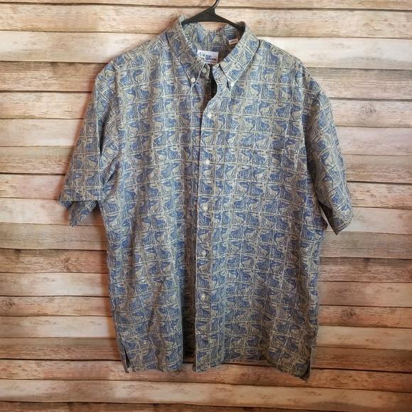 ef4b9bfa reyn spooner Shirts   Vintage Hawaiian Swordfish Shirt Xl   Poshmark